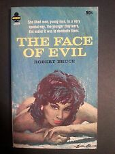 The Face of Evil: Robert Bruce Tower Midwood 1966 Sleaze/Fiction/Adult 1966 E-12
