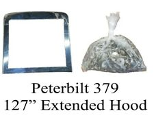 Peterbilt 379 Extended Hood Grille Surround and Bolt Kit