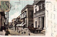 MEXICO CALLE DE VERA CRUZ~LATAPI y a BERT #6971 POSTCARD 1905 PSTMK
