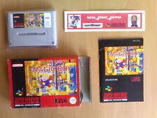 Game ☆ MAGIC BOY JVC Super Nintendo SNES Super NES PAL ☆ GC and Rare