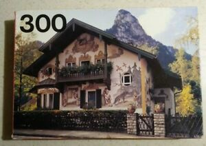 Vintage Jigsaw puzzle 300 pieces Swiss Chalet 40 x 28cm