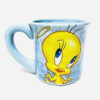 Looney Tunes TWEETY BIRD BLUE LARGE COFFEE MUG 99% ANGEL