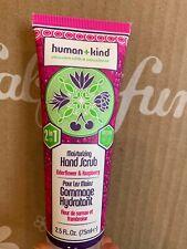 Human + Kind Moisturizing Hand Scrub Elderflower & Raspberry 2.5oz New + Sealed