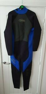Typhoon Edge Titanium Mens Wetsuit Black XL Surf Dive Neoprene Full Length