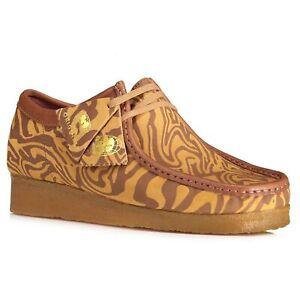 Clarks Originals x Wu Wear Men Boots Wallabee Lo Wu Tang Clan US 11.5M Brown