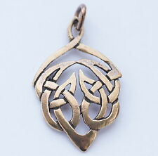 keltischer Knoten Anhänger aus Bronze Mittelalter Elben Elfen keltischer vogel