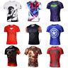 The Avengers Marvel Superhero T-shirt Short Sleeve Cycling Jersey Cosplay Tops