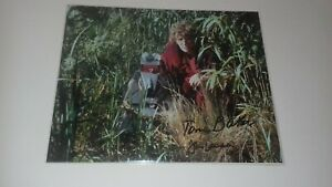 doctor who tom baker and john leeson 10x8 autograph photo