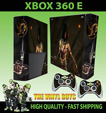 XBOX 360 E Mileena Mortal Kombat X MK x tarkatan Adesivo sottile & 2 tappetino