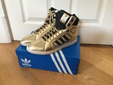 Mens Adidas Originals Sixtus London 2012 Gold Trainers BNIB Uk 9 Deadstock (t1)