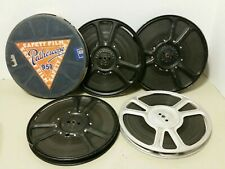 Pathex and Pathescope 9.5mm Movie Reels with Films lot of 5