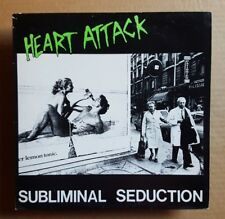 """Hearth Attack*Subliminal Seduction*Orig Vintage 1984 12"""" 45 rpm Rat Cage Dg-Lp"""