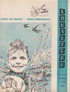 revue louveteau n°6-7 du 20 mars et 5 avril 1960