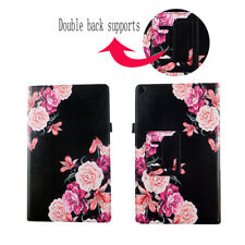 Case For Kindle Fire HD 10.1 10 inch 2017 Tablet Cover ID Pocket Stylus Holder
