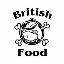 British Food, Catering Trailer, Burger Van, Catering Stickers, 550mm high.