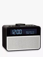 Ex Display John Lewis Astro DAB+ FM Dual Alarm 5W LCD Screen Digital Clock Radio