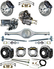 NEW SUSPENSION & WILWOOD BRAKE SET,CURRIE REAR END,POSI-TRAC GEAR,BOOSTER,677013