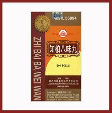 Zhi Bai Ba Wei Wan - Eight Ingredient Rehmannia Formula
