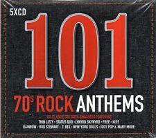 101 70's Rock Anthems - Various (CD 2017) Original CD New