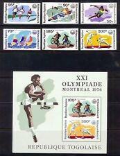 Postfrische Briefmarken mit Sport- & Spiel-Motiven aus Togo