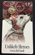 2015 $1 Uncirculated coin - unlikely heroes great and small-horrie the dog