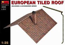 Miniart 1:35 European Tiled Roof Model Kit