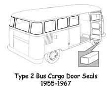 left 211831721D TYPE 2 BAY Door seal T2 1968-79