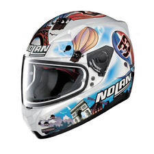 CASCO INTEGRALE NOLAN N60-5 M.MELANDRI FRANCE - 38 Metal White TAGLIA S
