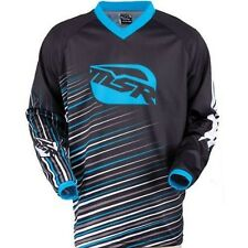 NOS MSR 351304 M13  AXXIS JERSEY BLACK CYAN SIZE MENS SMALL