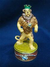 RARE  DEPT 56 WIZARD OF OZ COWARDLY LION BEJEWELED TIRINKET BOX MIB