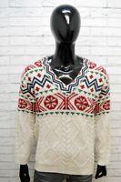 INVICTA Uomo Taglia XL Maglione Lana Alpaca Pullover Maglia Cardigan Sweater Man