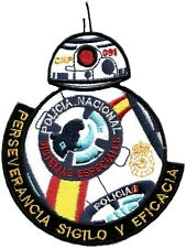 PARCHE POLICIA NACIONAL CNP SISTEMAS ESPECIALES STAR WARS POLICE EB02000