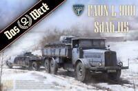 Faun L900 incl. SdAh 115 Das Werk DW35003 1:35 Modellbau Schwertansporter