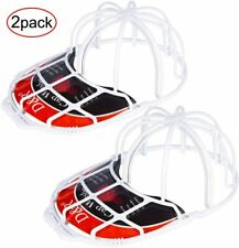 2 Pack Baseball Hat Washer Cage Protector Hat Rack for Baseball Caps
