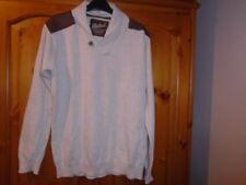 Beige marl long sleeve jumper with shawl collar, PRIMARK (REBEL), 12-13 years