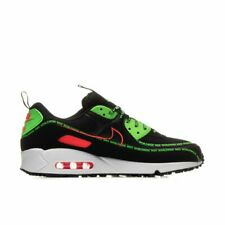 Nike Air Max 90 Mens Black Green White Red Worldwide Shoe Trainer All Sizes