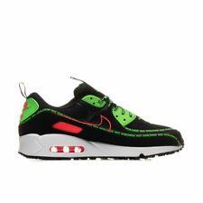 Nike Air Max 90 Hombre Negro Verde Blanco Rojo entrenador de todos los tamaños de zapatos en todo el mundo