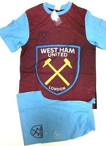 West Ham United Pyjamas   Boys Hammers Football Club PJs   West Ham F.C. Pyjamas