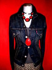 Levi's Levis Jeans Femmes Veste Style 72530 darkblue blogueurs taille S 36 NOUVEAU TOP