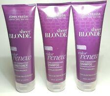 John Frieda Sheer Blonde Color Renew Tone Correcting 2 Shampoo 1 Conditioner
