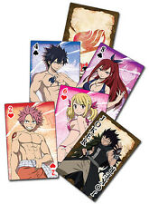 NEW GE Fairy Tail S2 - Group Playing Cards Officially Licensed GE51580 US Seller