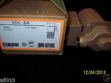 """Taco 006-B4  Bronze Circulating Pump 3/4"""" Sweat Circulates Water Wood Boiler"""