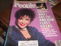 People Magazine Jan 18, 1988 Liz Taylor