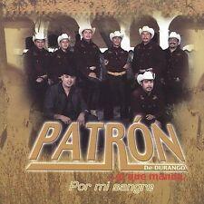 FREE US SHIP. on ANY 2 CDs! NEW CD Patron De Durango: Por Mi Sangre