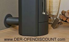 PELLETOFEN FLEXROHR 50mm schwarz - EXTERNE LUFTZUFUHR - OFEN - ROHR - RAUCHROHR