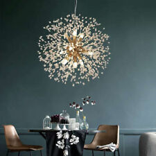 8 Lights Dandelion Chandelier LED Firework Pendant Ceiling Light Fixture Decor