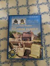Pilgrim Family: An American Adventure Play Set Child Light 1999Home School