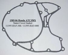 1985-86 HONDA ATC350X STATOR COVER LEFT SIDE ENGINE GASKET 11395-HA5-306