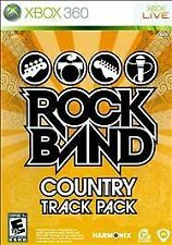 Rock Band: Country Track Pack (Microsoft Xbox 360, 2009) FREE SHIPPING