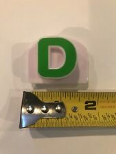 Leap Frog Magnetic magnet Fridge Capital Letter D